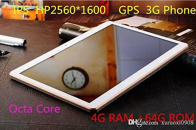 10.1 inch tablet android 5.0, 8 core processors, IPS screen,2560*1600 4G, 64GB