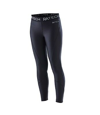 Russell Athletic Girls Compression Tights (Black) + Free AUS Delivery!