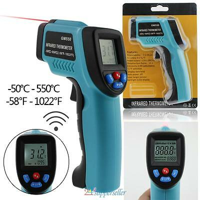 Non-Contact IR Infrared Digital Temperature Temp Thermometer Laser Point Gun US
