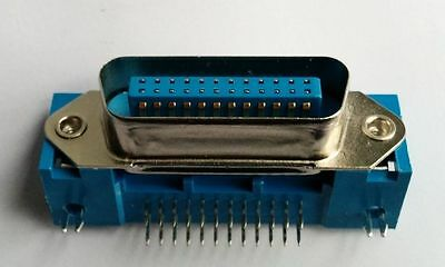1 x GPIB IEEE488 Centronic 24 Way Male PCB Mount Connector
