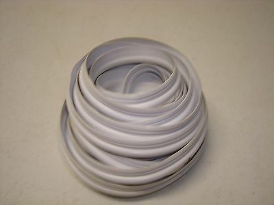 E/O 1/2 in. White Tubular Vinyl Gasket