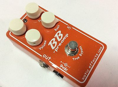 Xotic BB Preamp Orange Glitter Limited Edition Boost / Overdrive Guitar Pedal