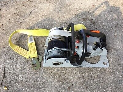 Rule Gas-Powered Chainsaw Winch G1800 chain saw echo