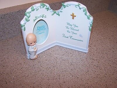 Precious Moments - MAY YOU BLESSED ON YOUR FIRST COMMUNION - Boy