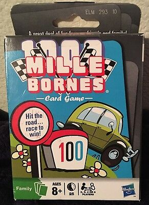 New Mile Bornes Card Game