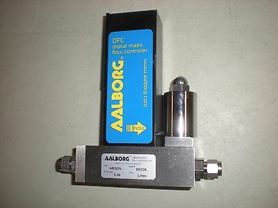 Aalborg DFC36 Digital Mass Flow Controller for Argon - 0-30 Flow Range