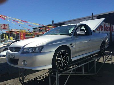 2004 Holden Commodore VZ SS Silver Automatic 4sp A Utility