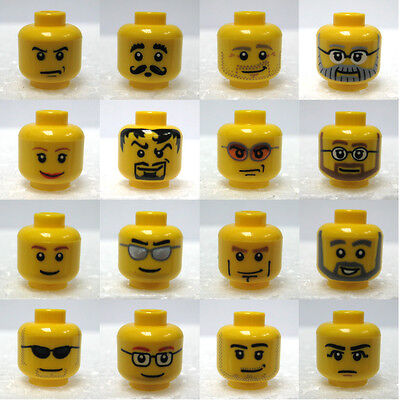 LEGO Parts, Minifigure Head, Choose Head style you want. New!