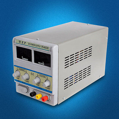 Power Supply Adjustable 0-60V 0-3A Precision Variable Digital for Lab machine BE