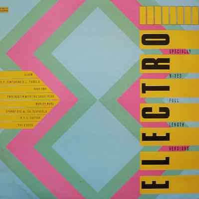 Street Sounds ELECTRO 8 CD - Very rare format
