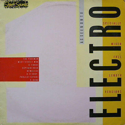 Street Sounds ELECTRO 1 CD - Very rare format