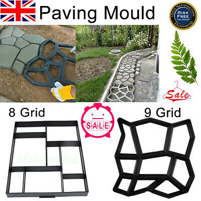 Driveway Paving Brick Patio Concrete Slabs Path Garden Walk Maker Road Mould Ali