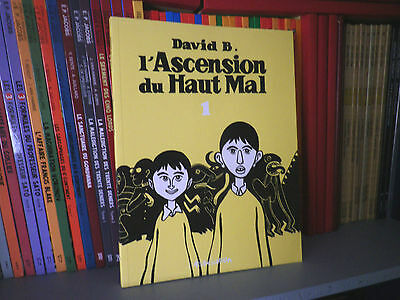L'ascension du Haut Mal Tome 1 - David B. - Editions L'ASSOCIATION - BD