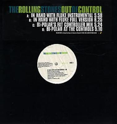 """Rolling Stones Out Of Control - Do... UK 12""""  record (Maxi) promo"""