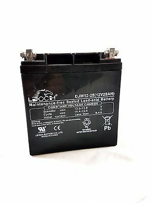 Leoch 12V 28Ah Deep Cycle Battery Suitable For Golf Trolley Djw12-28