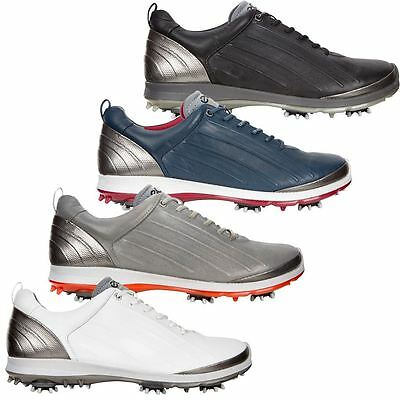 ECCO 2017 Biom G 2 Hydromax Spikes Waterproof -Yak Leather Mens Golf Shoes