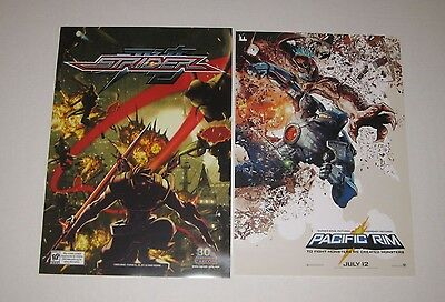 30th Anniversary Capcom Strider - Warner Bros Legendary Pacific Rim Posters