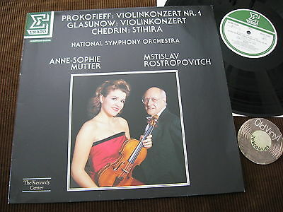 LP Prokofieff Violinkonzert Nr. 1 Anne-Sophie Mutter Rostropovitch | M- to EX