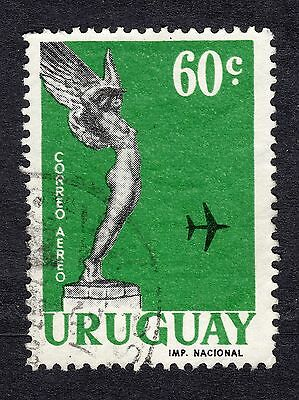 1960 Uruguay 60c AIR Statue on Lanza Monument SG 1142 FINE USED R20183