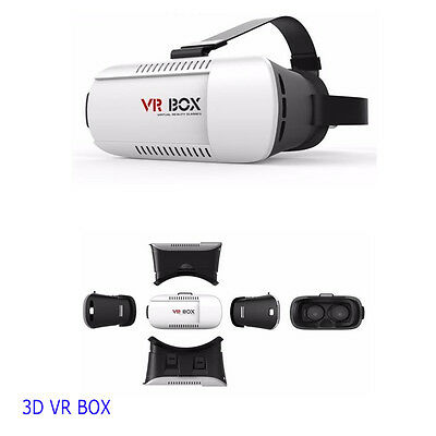 3D VR BOX IMAX GLASSES VIRTUAL REALITY VIDEO FOR SAMSUNG iPHONE SMART PHONE