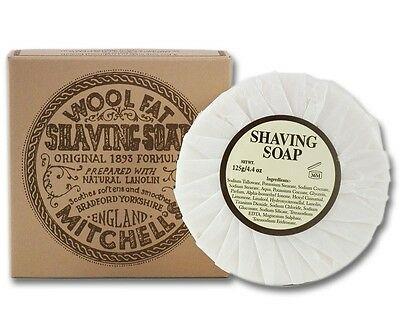 Mitchells Wool Fat Shaving Soap Refill (125 g)