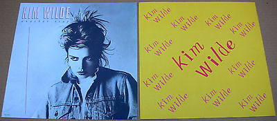 KIM WILDE Another Step 2 Sided Promo 12x12 Poster Flat 1986 Mint-