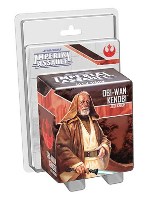 New Star Wars Imperial Assault Obi-Wan Kenobi Ally Pack Daily Board Card Games