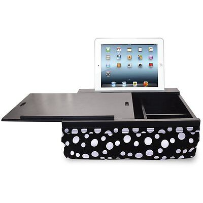 iCozy Portable Cushion Lap Desk With Storage - Polka Dot