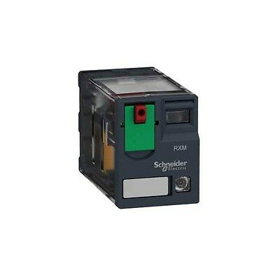 Schneider Electric RXM4AB2B7 4PDT Miniature Relay with LED 24VAC 6A