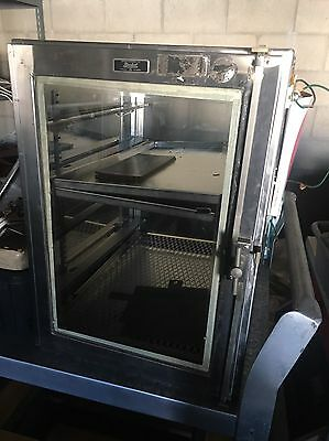 Used Boekel Scientific Stainless Steel with Glass Desiccator / Dry Box Cabinet