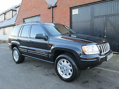 Jeep Grand Cherokee 2.7 Crd Diesel Automatic Limited Black