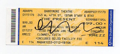 CATE BLANCHETT signed The Present ticket AUTOGRAPH IN PERSON plus Lord Rings DVD
