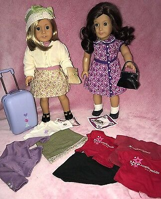 Kit Kittredges And Best Friend Ruthie Smithens American Girl Best Friends Lot