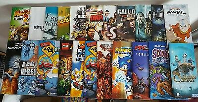 Bundle Of Playstation 2 And Psp Manuals!!!!!!!!!