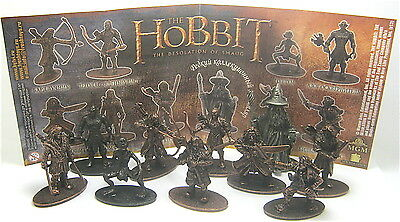 der Hobbit Metal figures Russia 2016 ( the Lord who rings 4 ) Free Selection