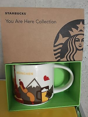 Starbucks * MÜNCHEN * MUNICH * City Mug YOU ARE HERE SERIE XL Tasse NEU