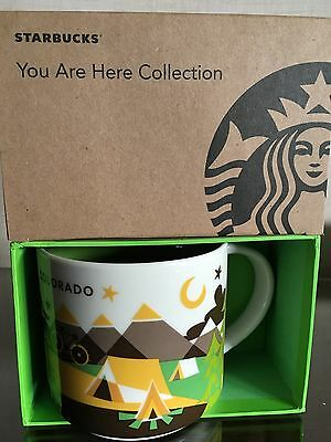 Starbucks * COLORADO * City Mug YOU ARE HERE SERIE XL Tasse NEU