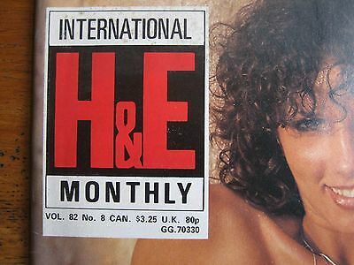 Health & Efficiency H&e Magazine 82/8  August 1982  Perfect Condition
