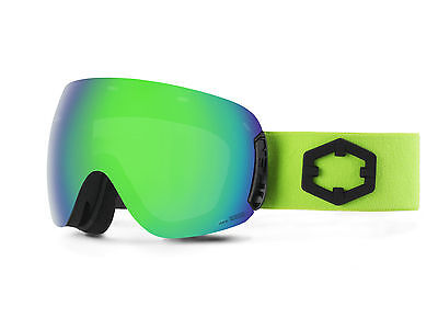 OUT OF Maschera Snowboard Open Green Green MCI + Permission bonus lens