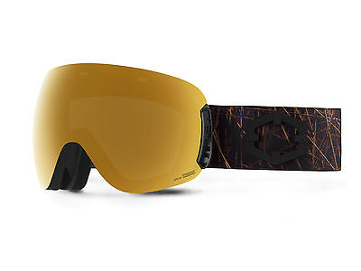 OUT OF Maschera Snowboard Open Nest Gold24 MCI + Permission bonus lens
