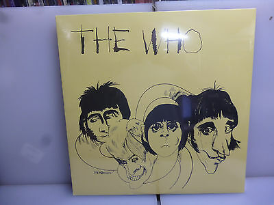The Who-The Who.-Italian Cover Vinyl Lp-New.sealed.