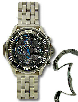 Massives Metallband für CITIZEN BJ2111-08E