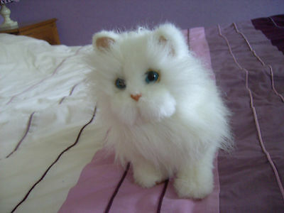 PELUCHE chat Fur Real friends interactif