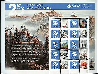 United Natiions 2016 Vienna Ctbto End To Nuclear Explosions  Personalized Sheet