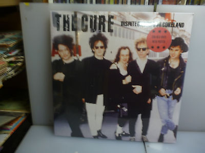 Cure-Disintegration In Cokeland. Oakland, Ca, Usa 1989.-2Lp Red Vinyl-New.sealed
