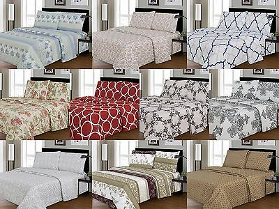 Soft and Wrinkle Free Sheet set Free Shipping