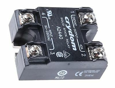 Crydom 40 A rms Solid State Relay, Zero Cross, Surface Mount SCR, 280 V rms Max