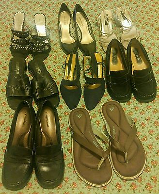Women's Size 10 Shoes- lot of 8