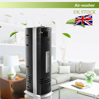 Panana Air Purifier Ioniser Silent Freshener Cleaner Ionizer Carbon Filter Home