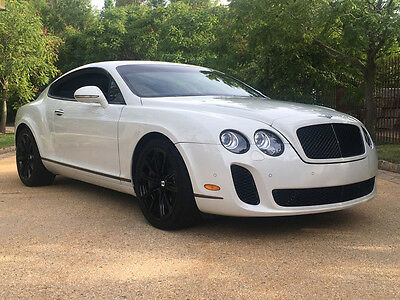 2010 Bentley Continental GT Supersports Coupe 2-Door upersports low mile free shipping exotic collector luxury awd clean carfax